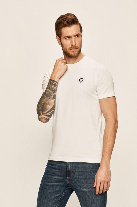 biały EA7 Emporio Armani - T-shirt Męski