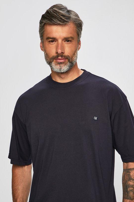 námořnická modř Calvin Klein Jeans - Tričko Pánský