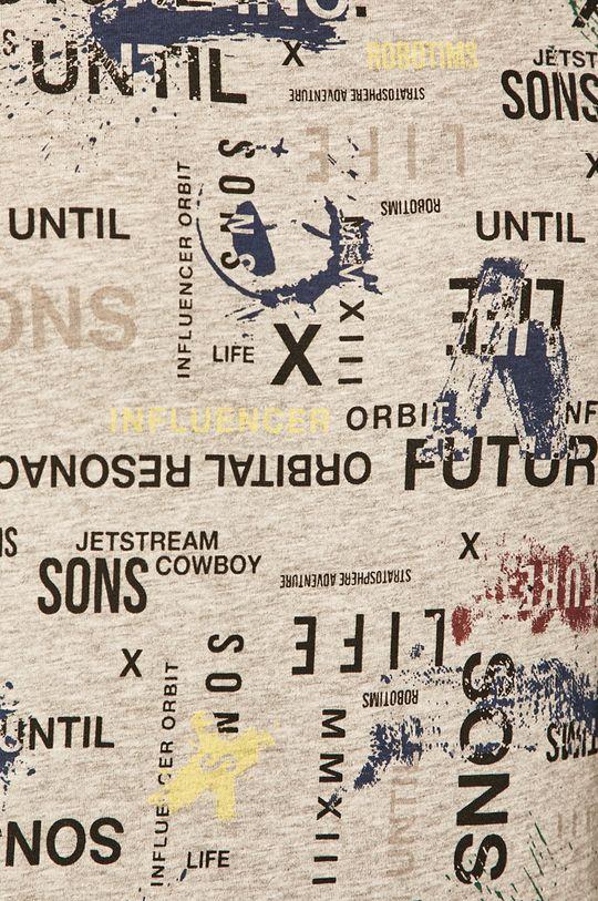 světle šedá Only & Sons - Tričko