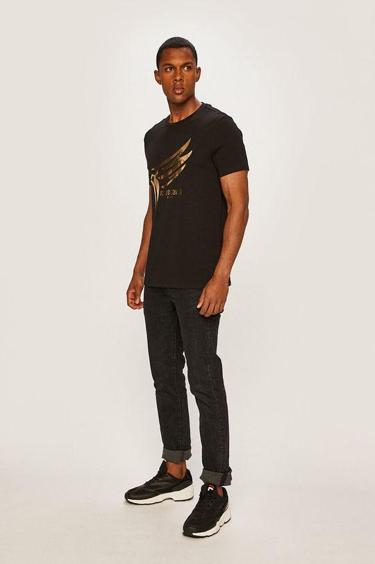 Roberto Cavalli Sport - Pánske tričko čierna
