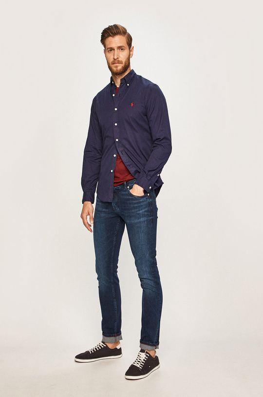 Polo Ralph Lauren - Pánske tričko gaštanová