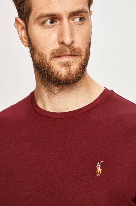 gaštanová Polo Ralph Lauren - Pánske tričko