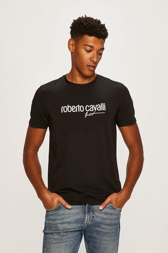negru Roberto Cavalli Sport - Tricou De bărbați