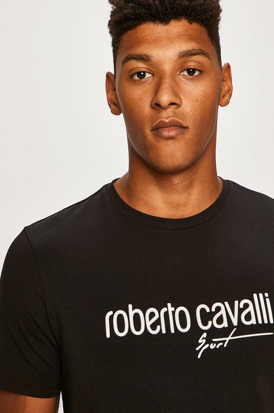 negru Roberto Cavalli Sport - Tricou