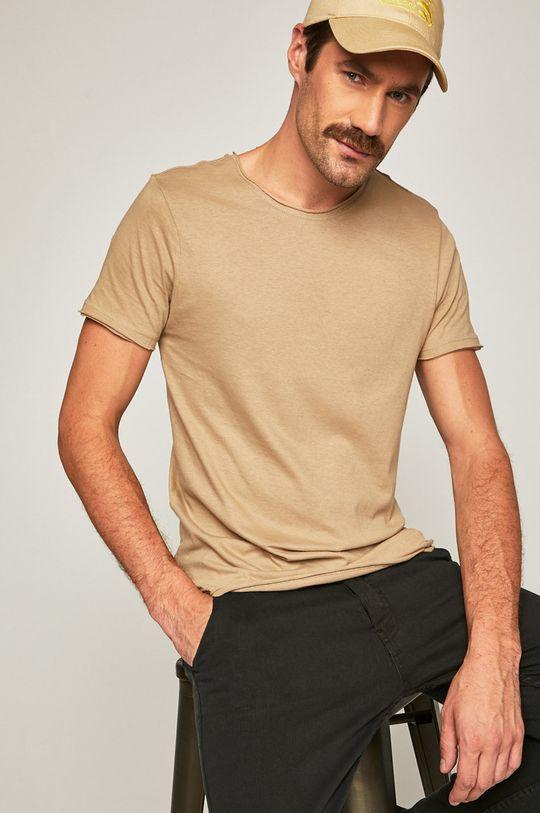 beżowy Brave Soul - T-shirt Męski
