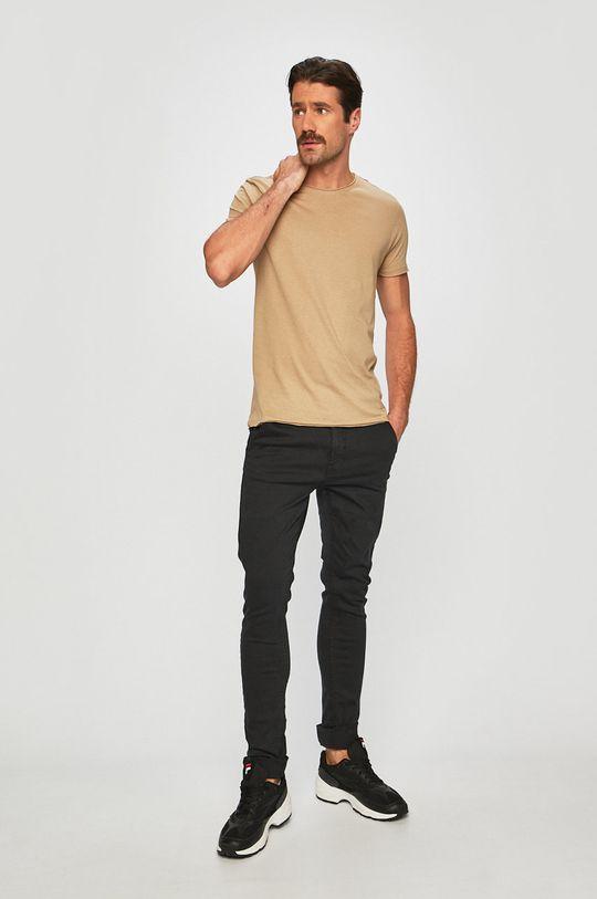 Brave Soul - T-shirt beżowy