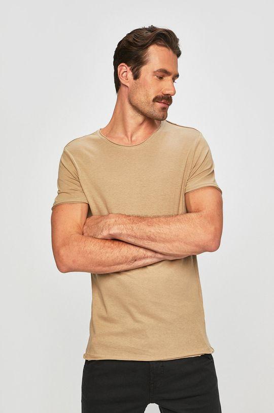 beżowy Brave Soul - T-shirt