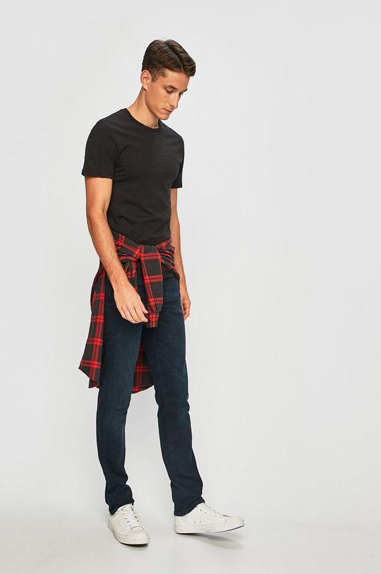 Levi's - T-shirt (2-pack) czarny