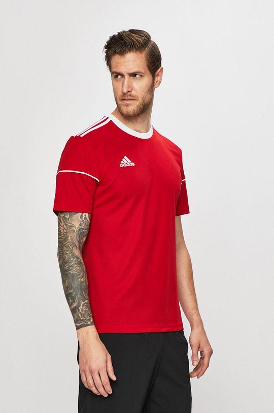piros adidas Performance - T-shirt Férfi