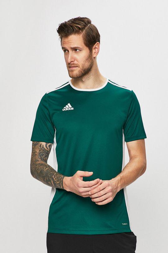 zelená adidas Performance - Tričko Pánský
