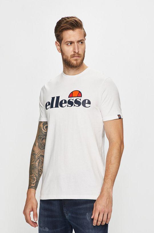 biela Ellesse - Pánske tričko Pánsky