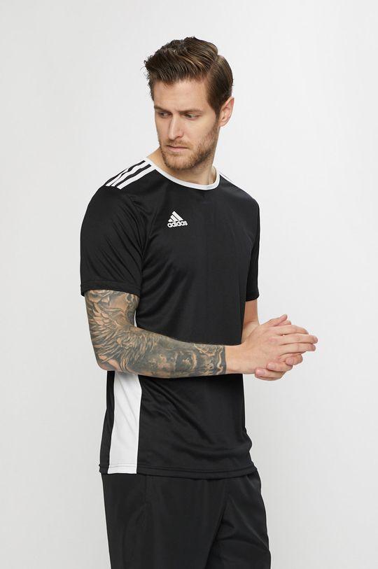 černá adidas Performance - Tričko Pánský