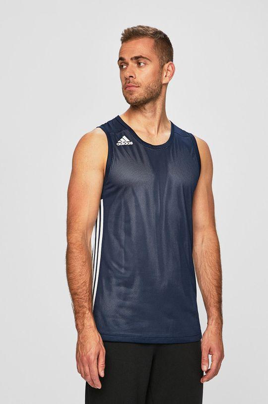 námořnická modř adidas Performance - Tričko Pánský