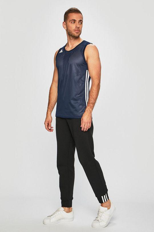 adidas Performance - Tričko námořnická modř