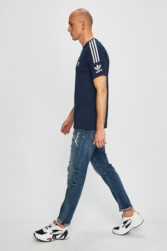 adidas Originals - T-shirt granatowy