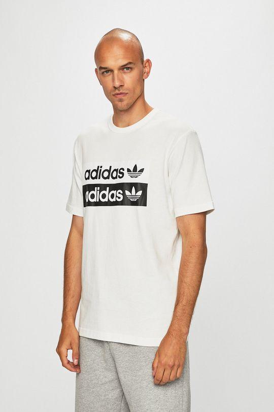 bílá adidas Originals - Tričko Pánský