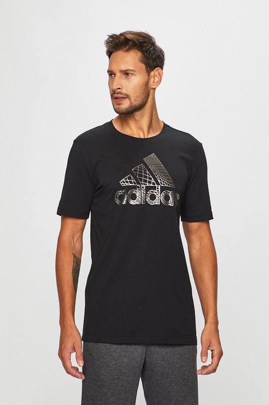 fekete adidas Performance - Póló ED7256 Férfi