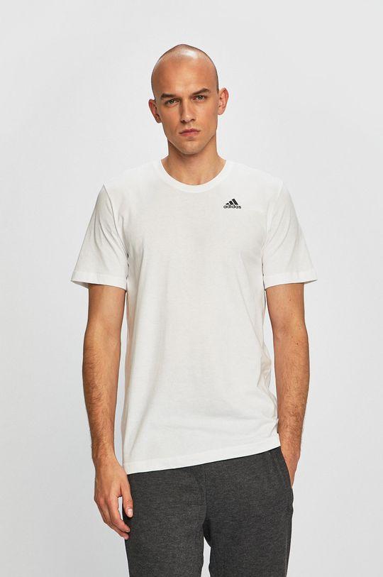 adidas Performance - T-shirt  100% pamut