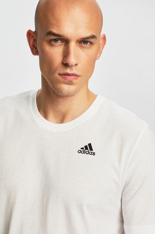 fehér adidas Performance - T-shirt