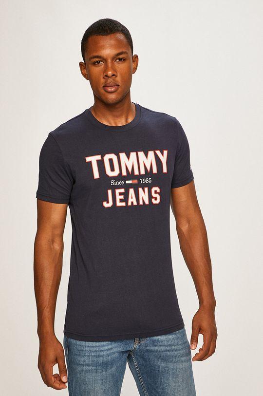 tmavomodrá Tommy Jeans - Pánske tričko Pánsky