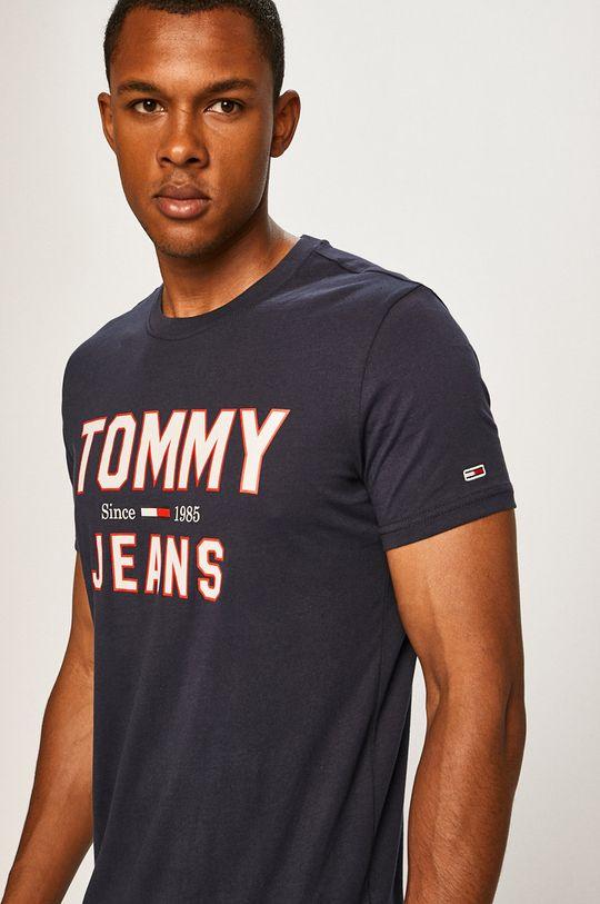 tmavomodrá Tommy Jeans - Pánske tričko