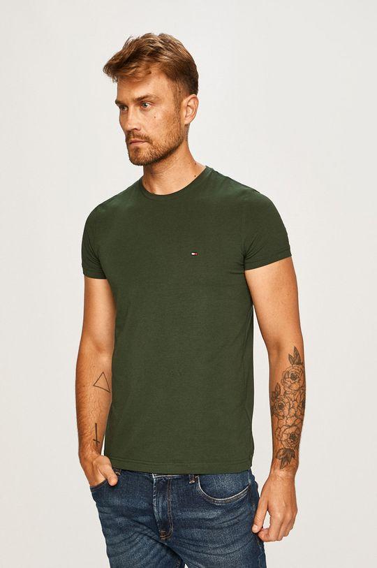 verde Tommy Hilfiger - Tricou De bărbați