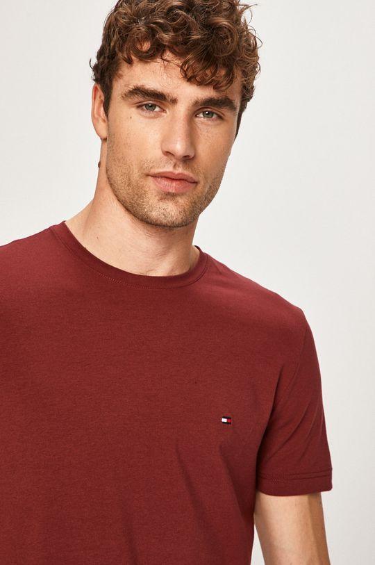 gaštanová Tommy Hilfiger - Pánske tričko