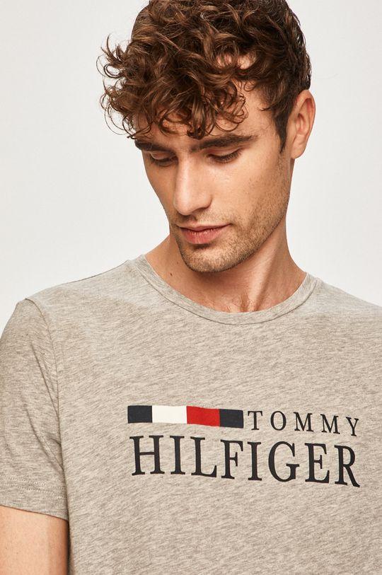 svetlosivá Tommy Hilfiger - Pánske tričko