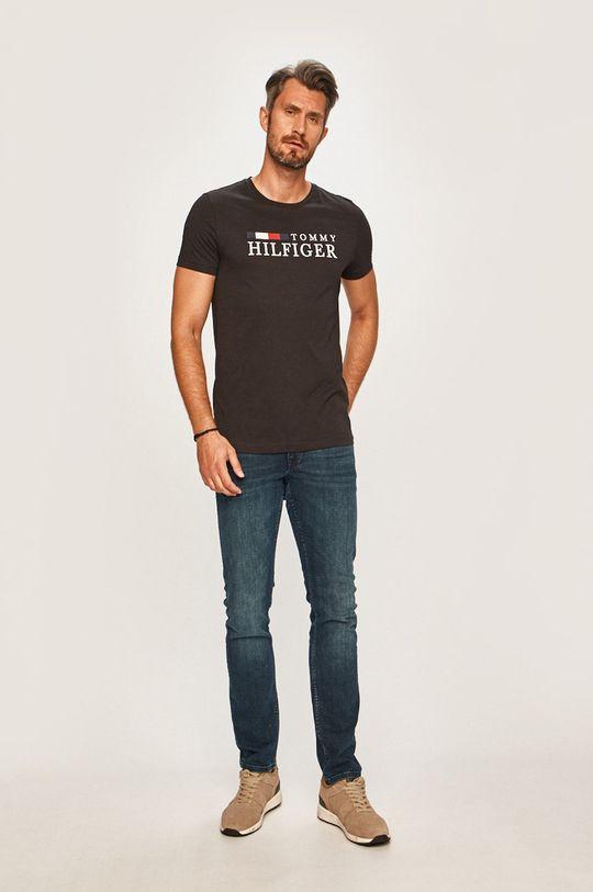 Tommy Hilfiger - T-shirt czarny