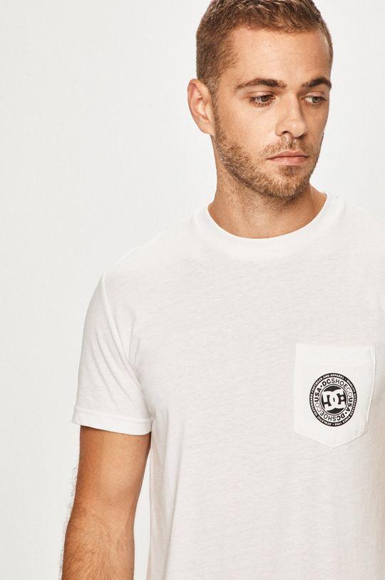 biela DC - Pánske tričko Pánsky