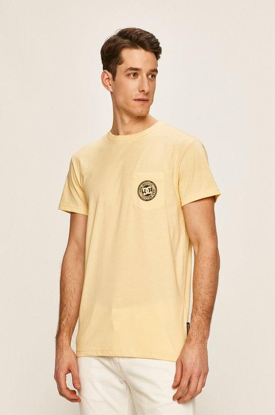 žlutá DC - Tričko Pánský