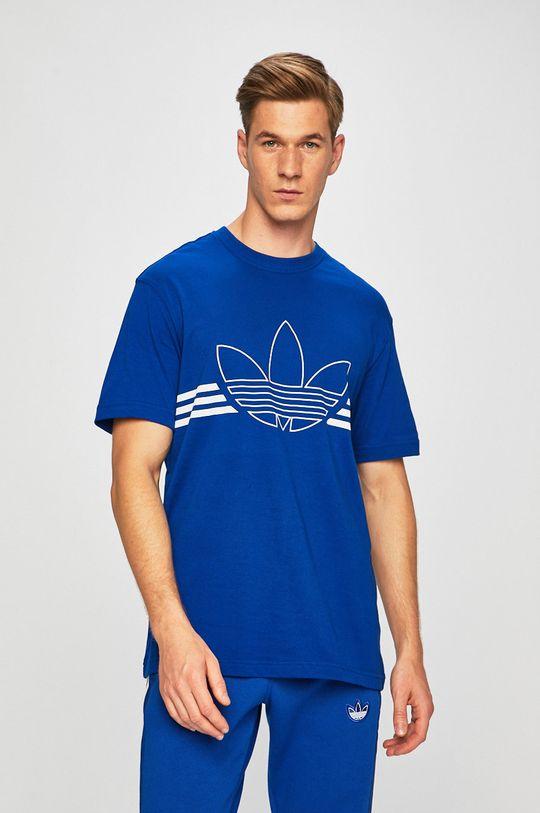 modrá adidas Originals - Tričko Pánský