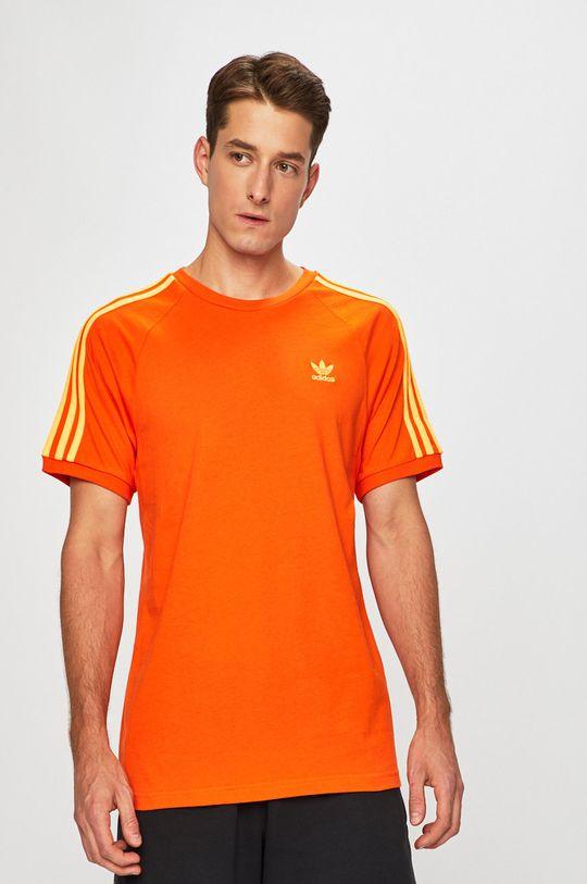 narancssárga adidas Originals - T-shirt Férfi