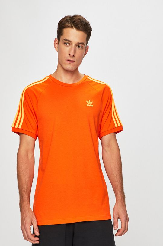oranžová adidas Originals - Tričko Pánský