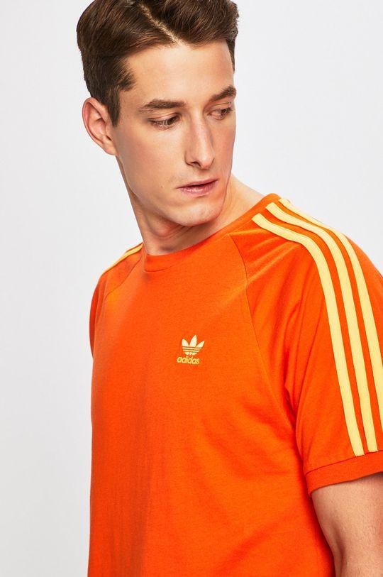 oranžová adidas Originals - Tričko