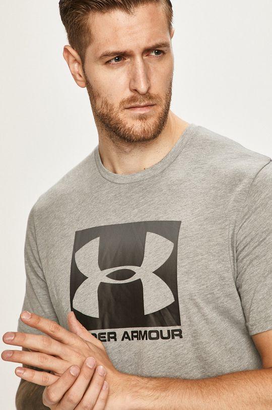 svetlosivá Under Armour - Pánske tričko