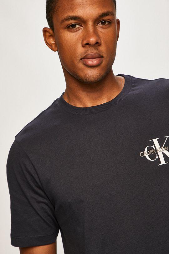 námořnická modř Calvin Klein Jeans - Tričko