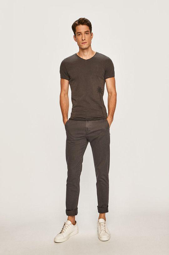 Mustang - Pánske tričko sivá