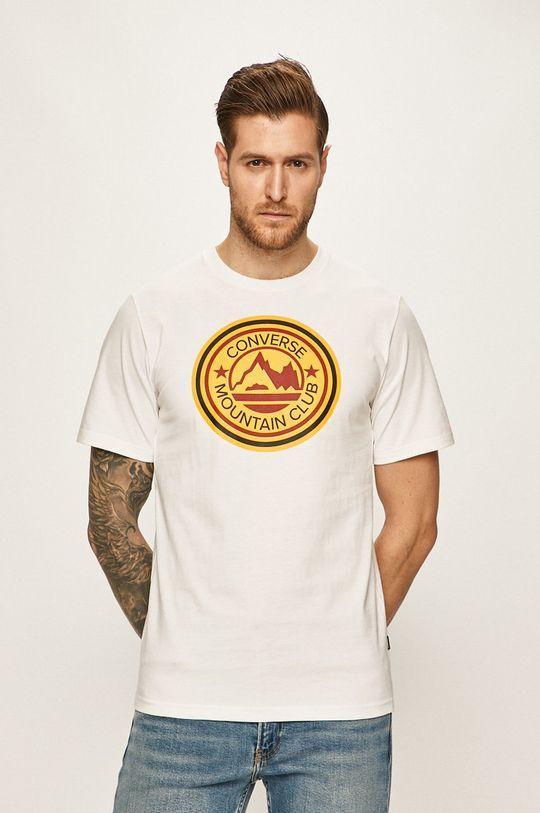 bílá Converse - Tričko Pánský