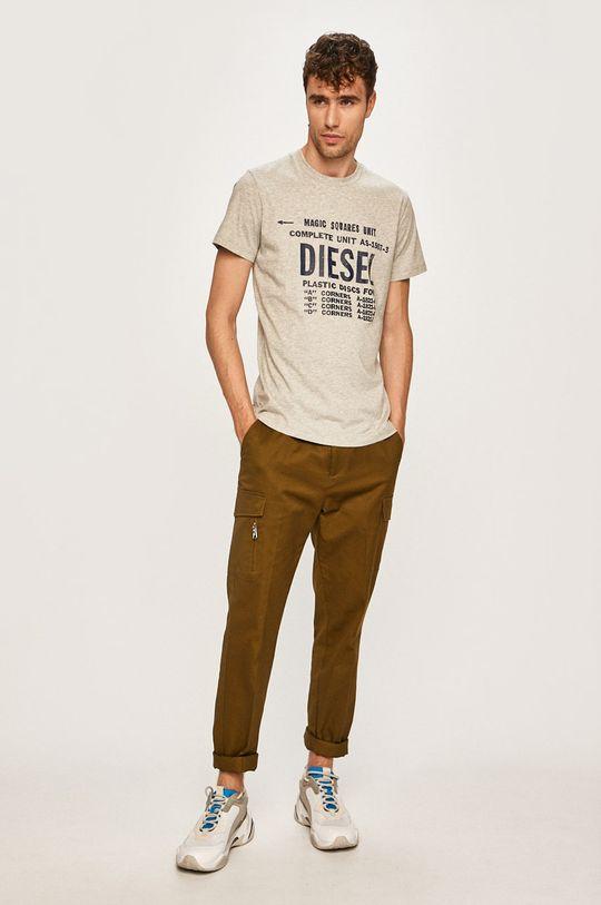 Diesel - Tričko šedá