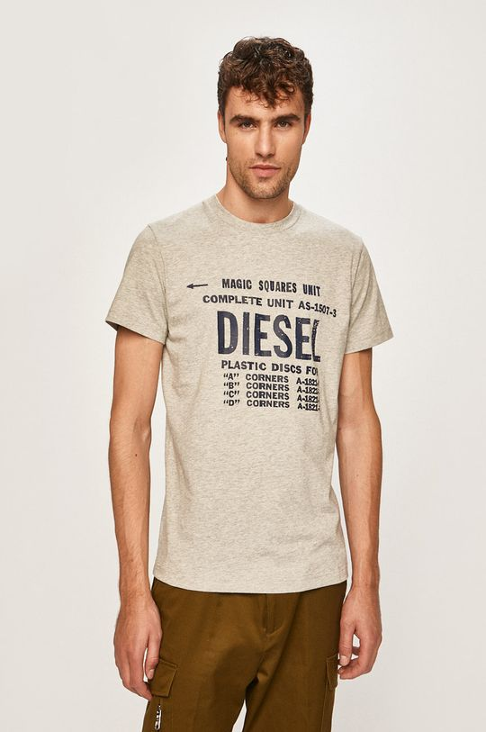 šedá Diesel - Tričko