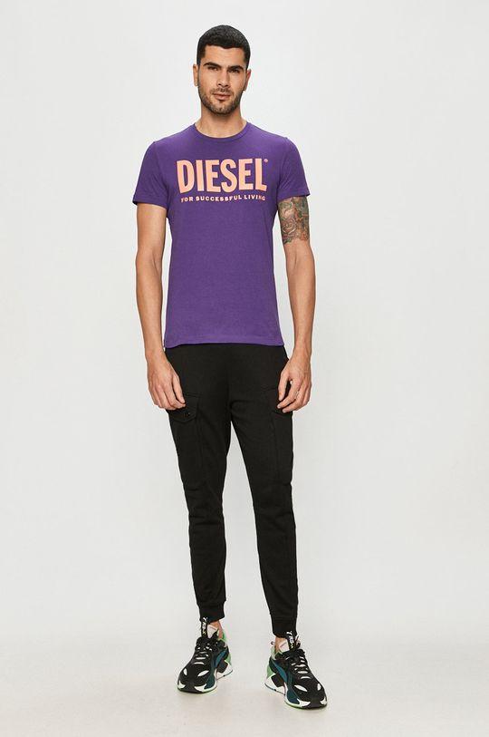 Diesel - Tričko fialová