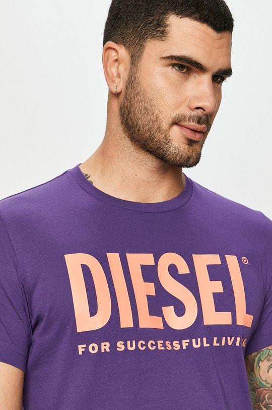 fialová Diesel - Tričko