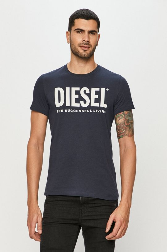 námořnická modř Diesel - Tričko Pánský