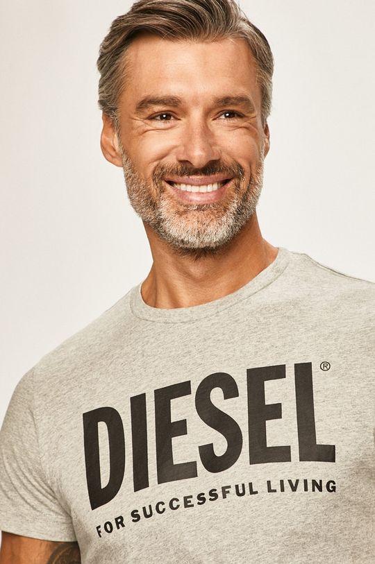 sivá Diesel - Pánske tričko Pánsky