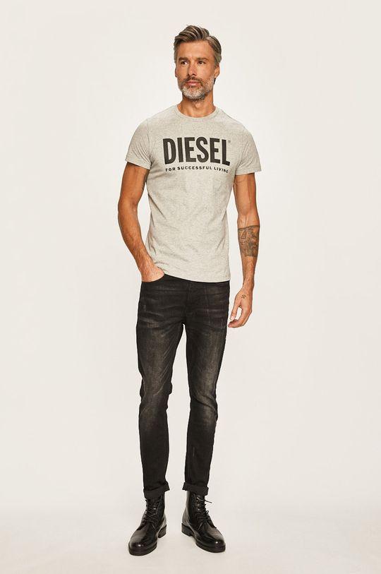 Diesel - Pánske tričko sivá
