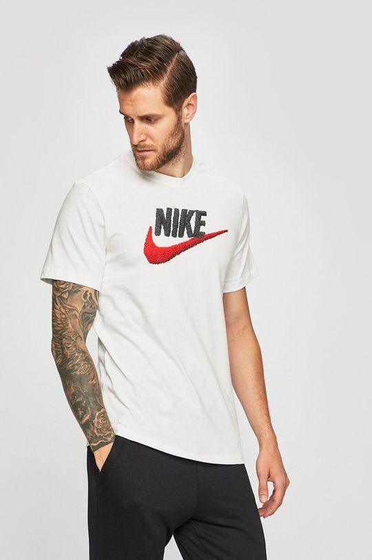alb Nike Sportswear - Tricou De bărbați