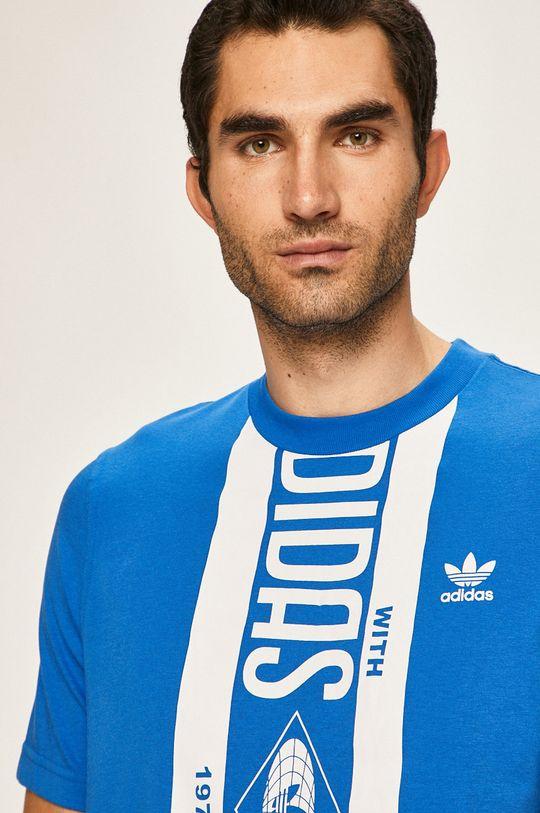 modrá adidas Originals - Tričko