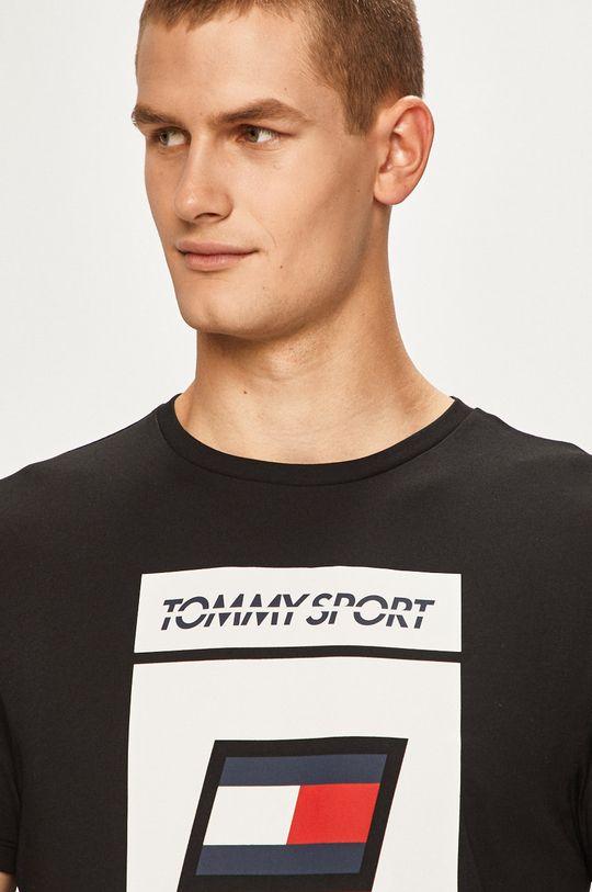 negru Tommy Sport - Tricou