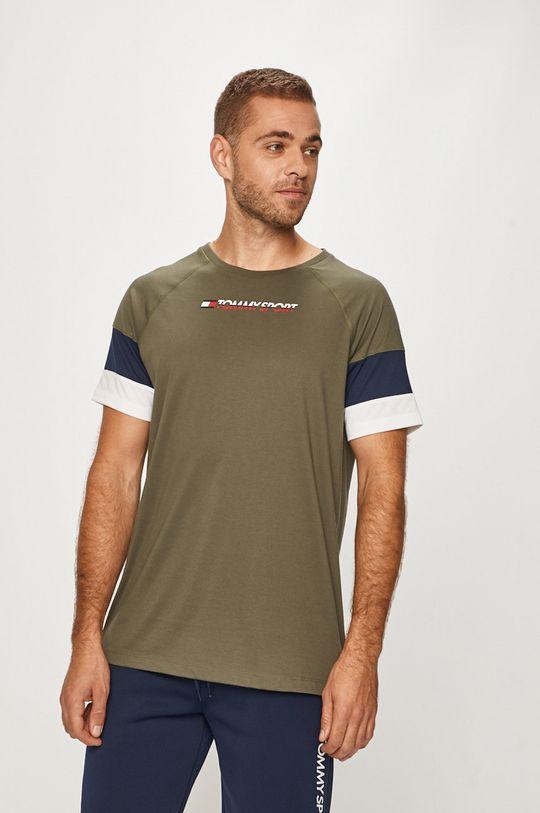 verde Tommy Sport - Tricou De bărbați